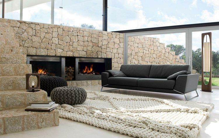 salon design moderne elegant