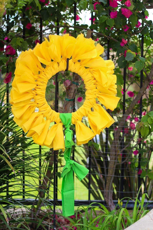 Bricolage Bandana Couronne de tournesol d'été