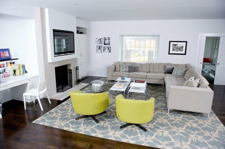 sofa d'angle aménagement de salon