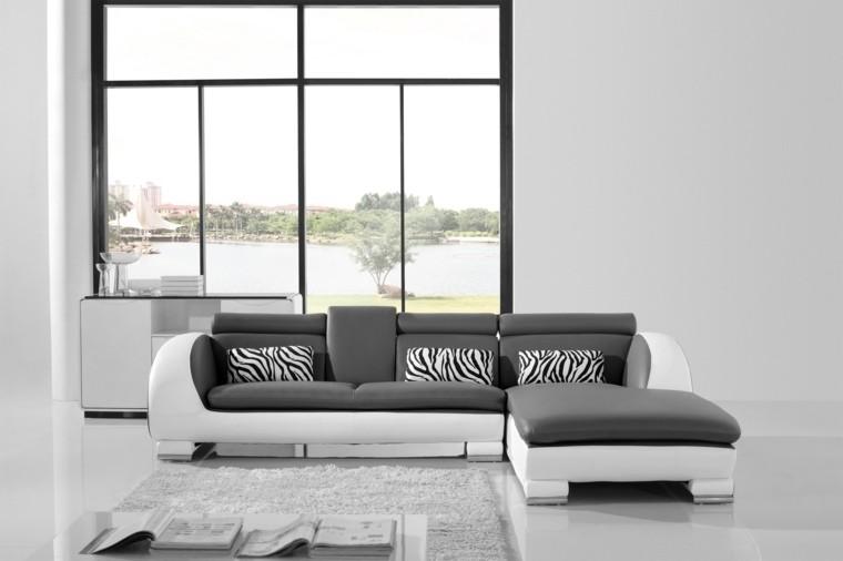idée déco salon minimaliste meubles