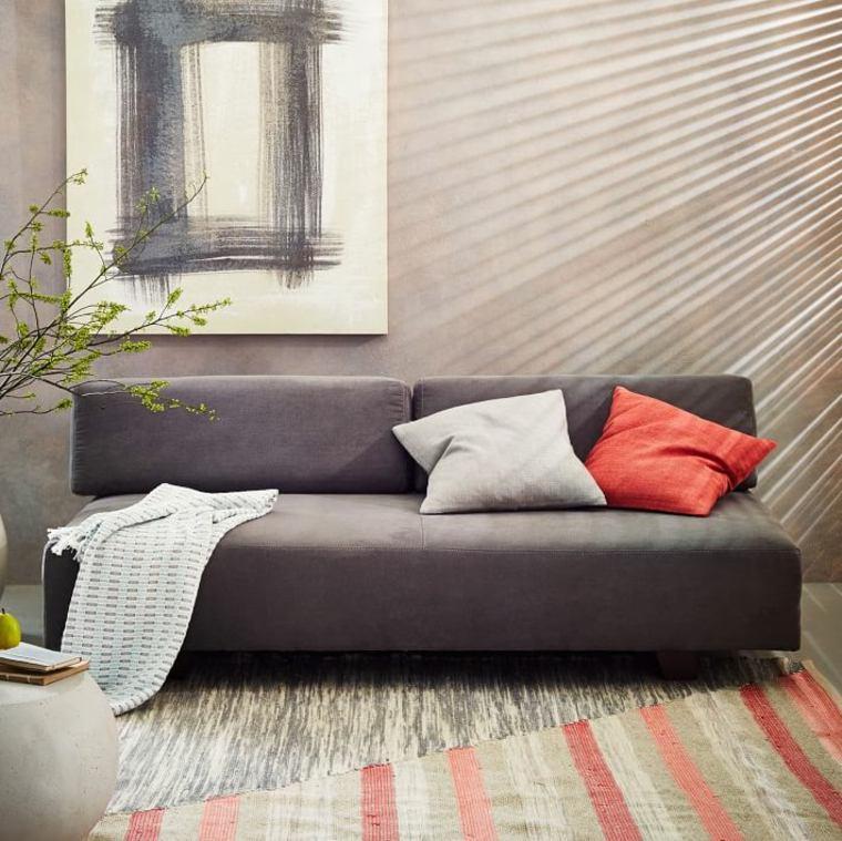 meuble gris fonce interieur couleurs foncé