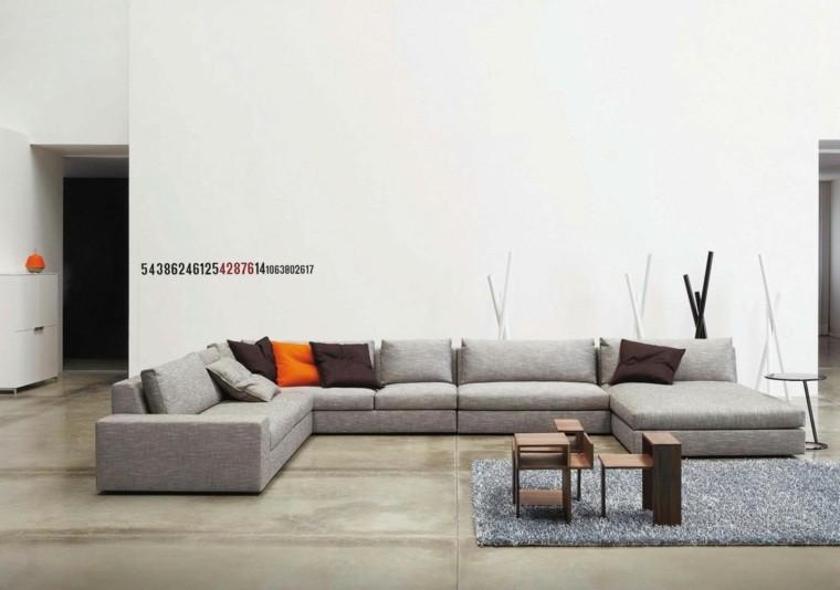 couleur tendance salon meuble moderne