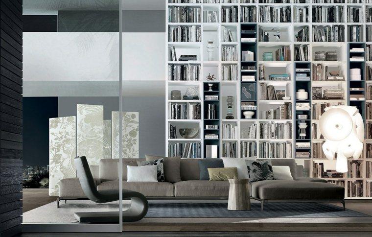 déco moderne salle de sejour canape gris salon