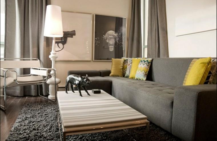déco moderne salles de sejour canapé design