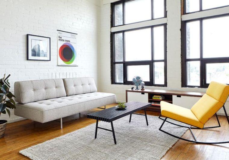 Déco moderne pour le salon : 85 idées avec canapé gris