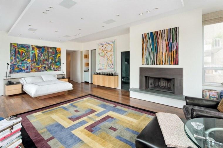 déco murale salon moderne elegant