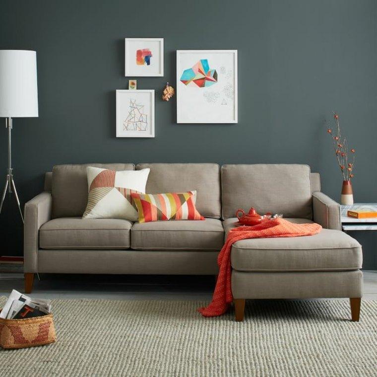 couleur salon gris taupe
