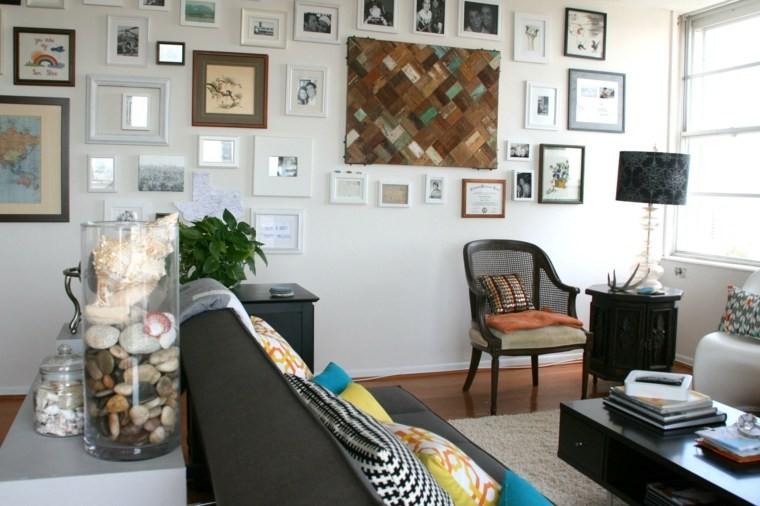 decoration salon murs idee