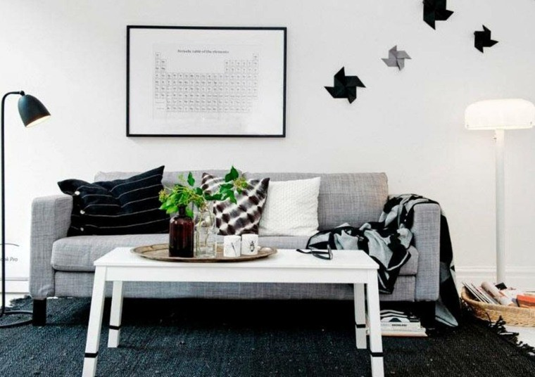 idees deco canape gris tendance