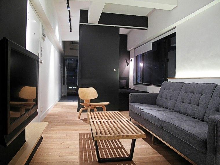 deco design salon gris
