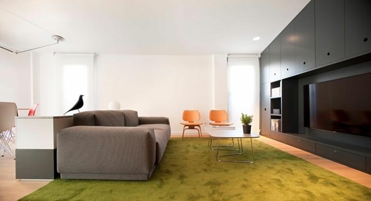 meubles modernes couleur salon
