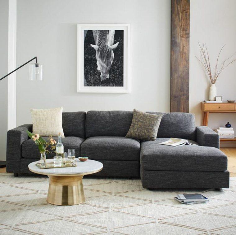 decoration de salon meuble gris taupe