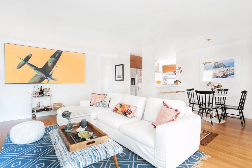 Créer une séparation dans un petit plan d'étage ouvert