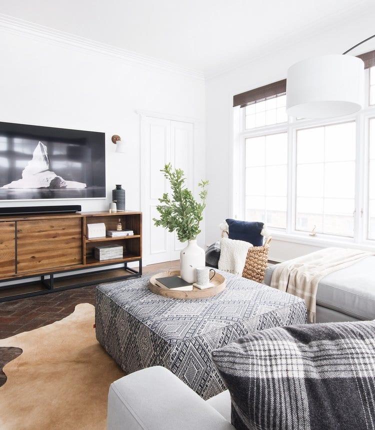Espace pour se détendre dans votre salon