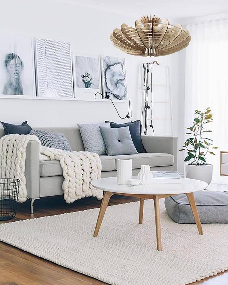 Sélection de meubles de salon scandinaves