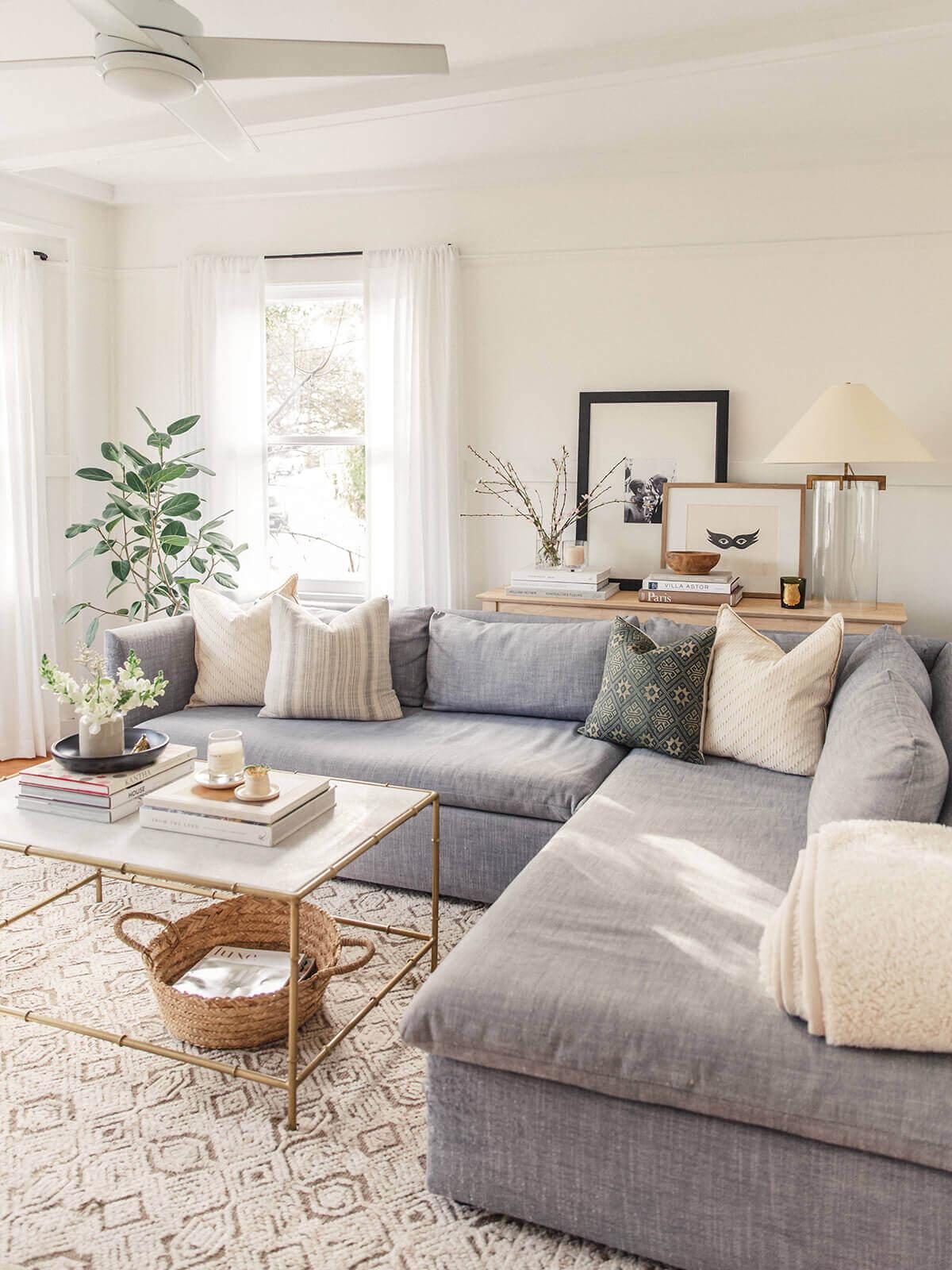 Créer un salon chaleureux de style Scandinave