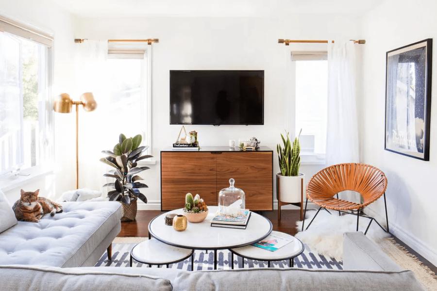 salle de sejour minimaliste