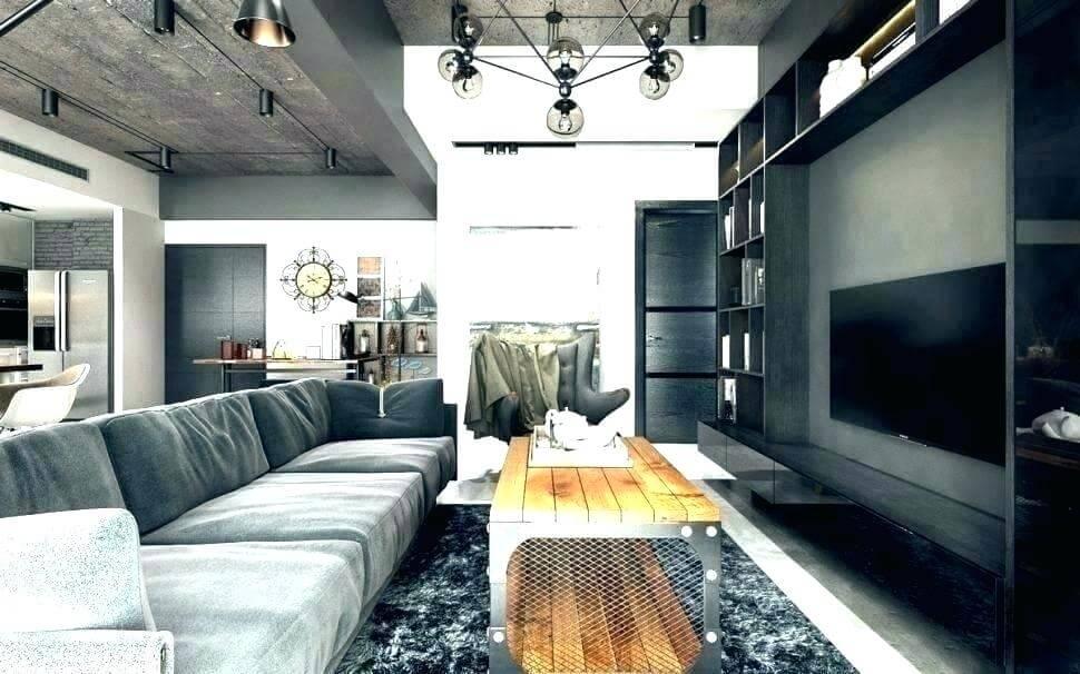 Salon industriel moderne minimaliste