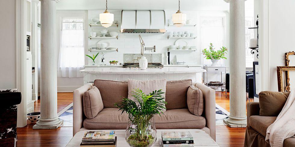 Déco salon avec espace facile d'access