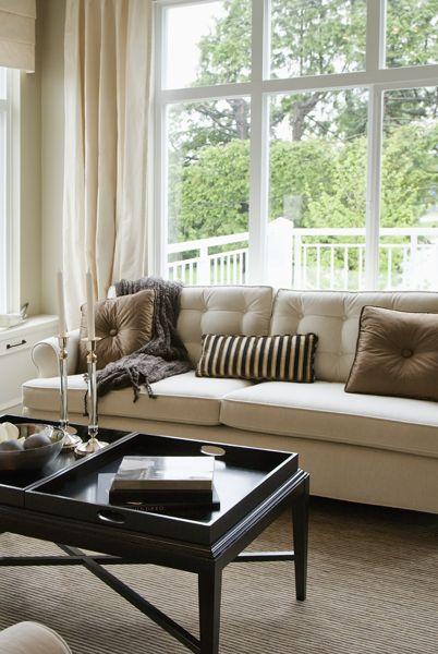 Salon design Élégance classique