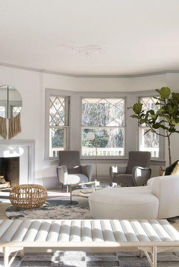 agencement classique de salon minimaliste