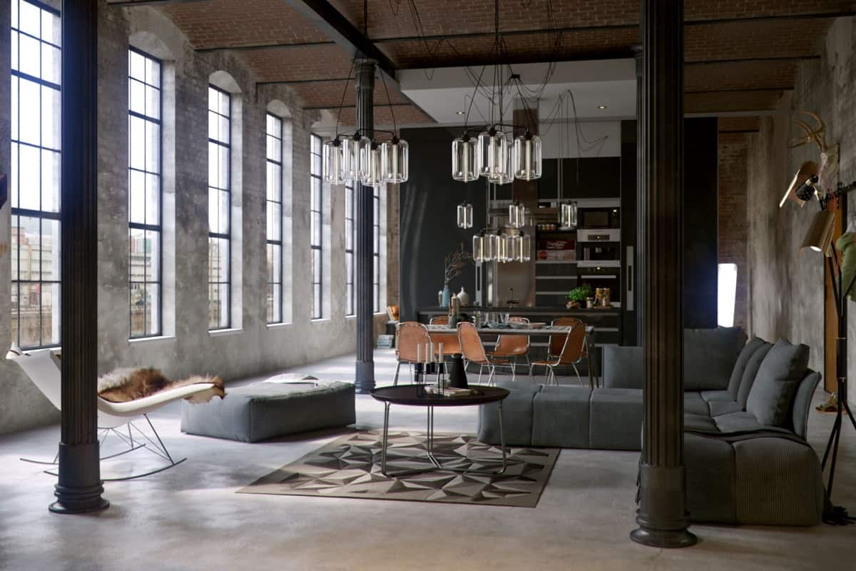 designs de salons industriels