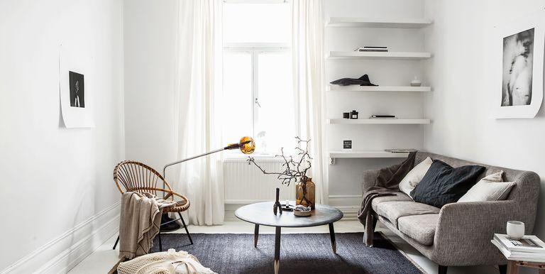 idées minimalistes de salon qui nous donnent envie de tout purger