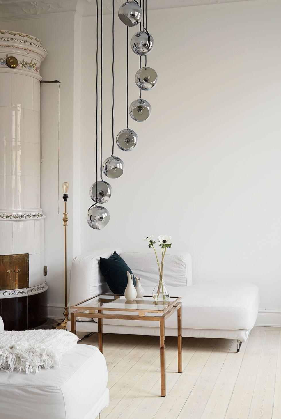 Ameublement de salon minimaliste