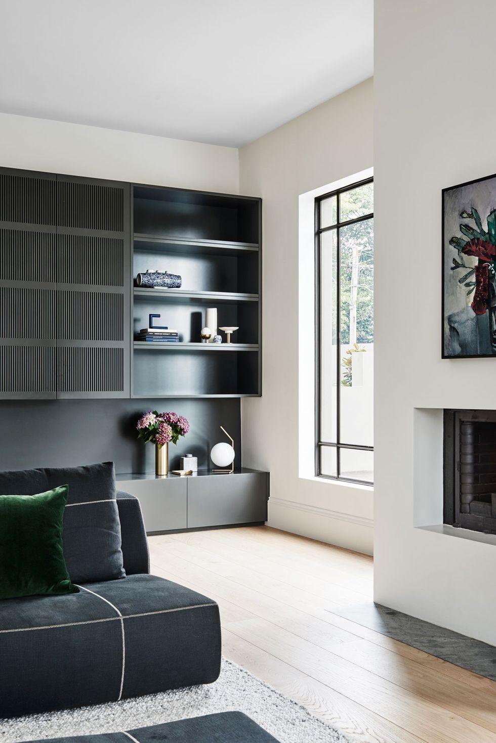 salon sophistiquée avec décoration minimaliste