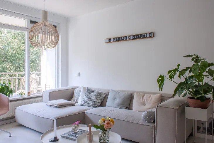 le style scandinave en un seul canapé