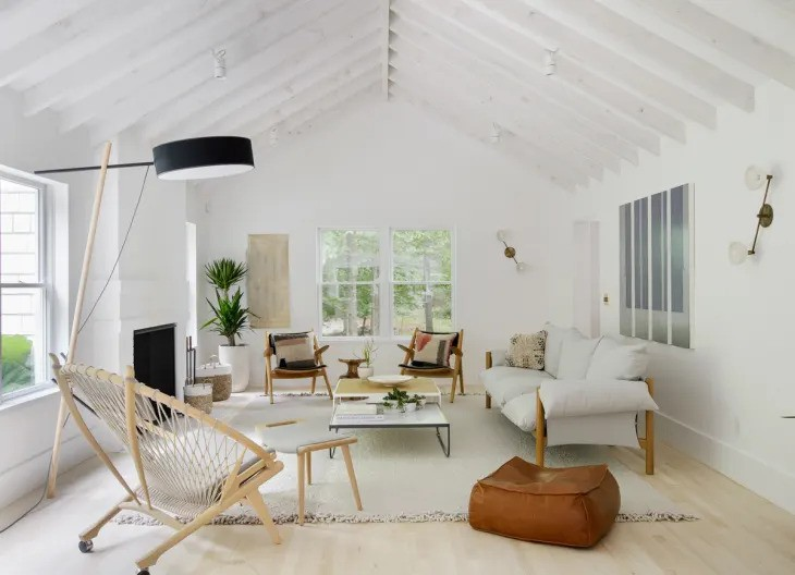 superbes salons minimalistes