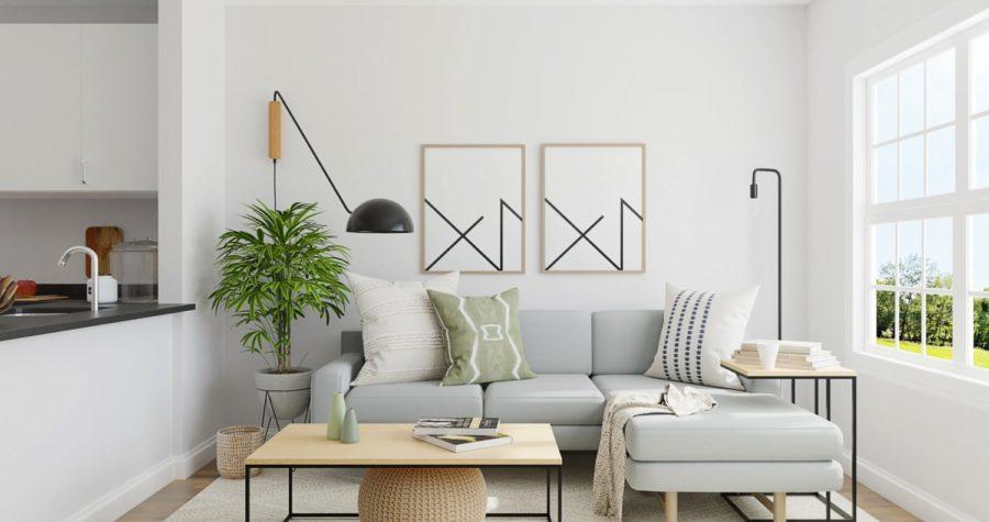 Idées minimalistes pour la conception de salons
