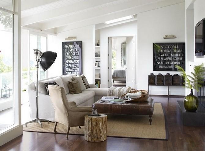 Look industriel avec des cadres inspirés en noir et blanc