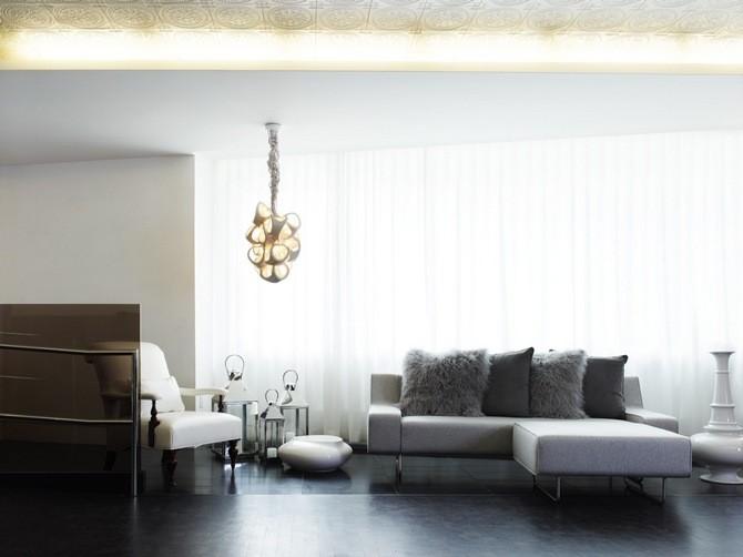 Salon industriel avec look sophistiqué