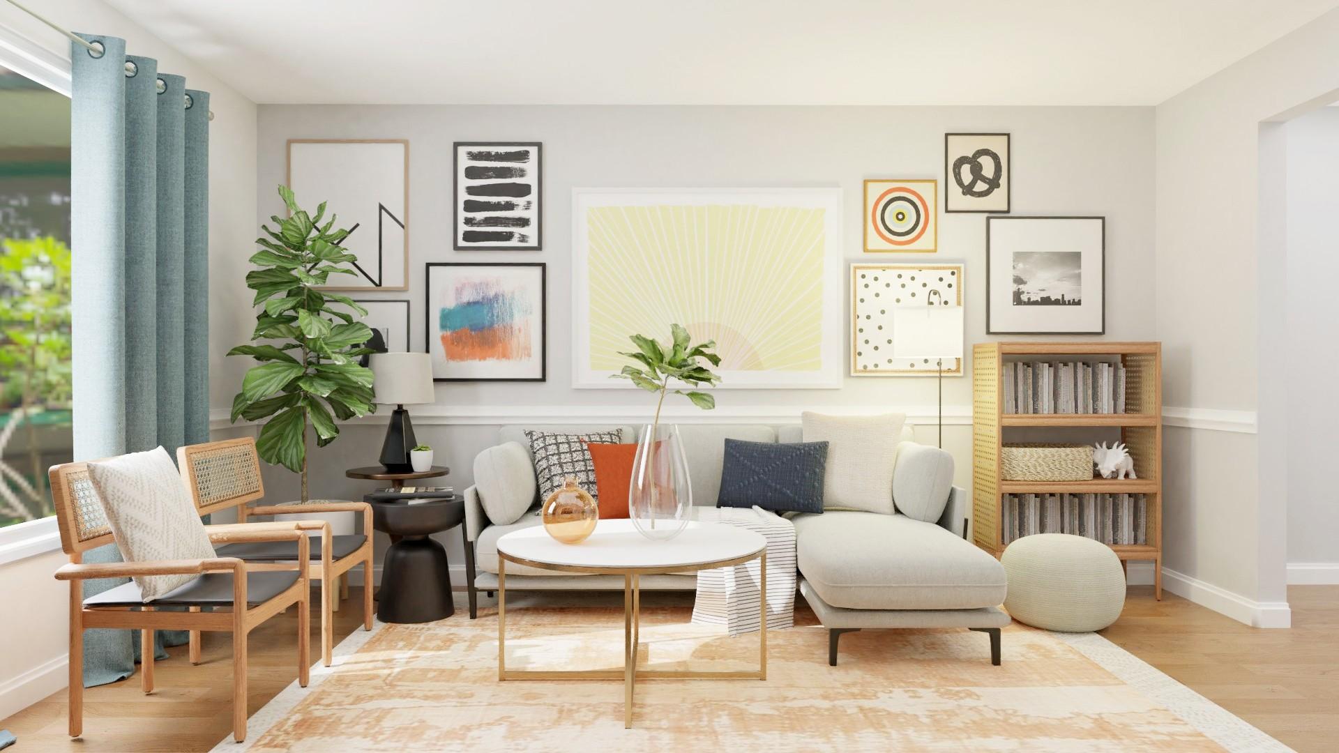 Pensez à des meubles légers et aérés