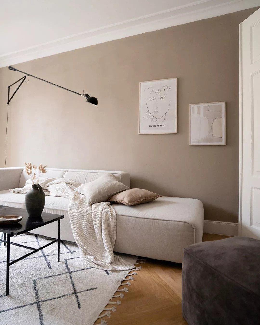 Salon scandinave - La vraie simplicité