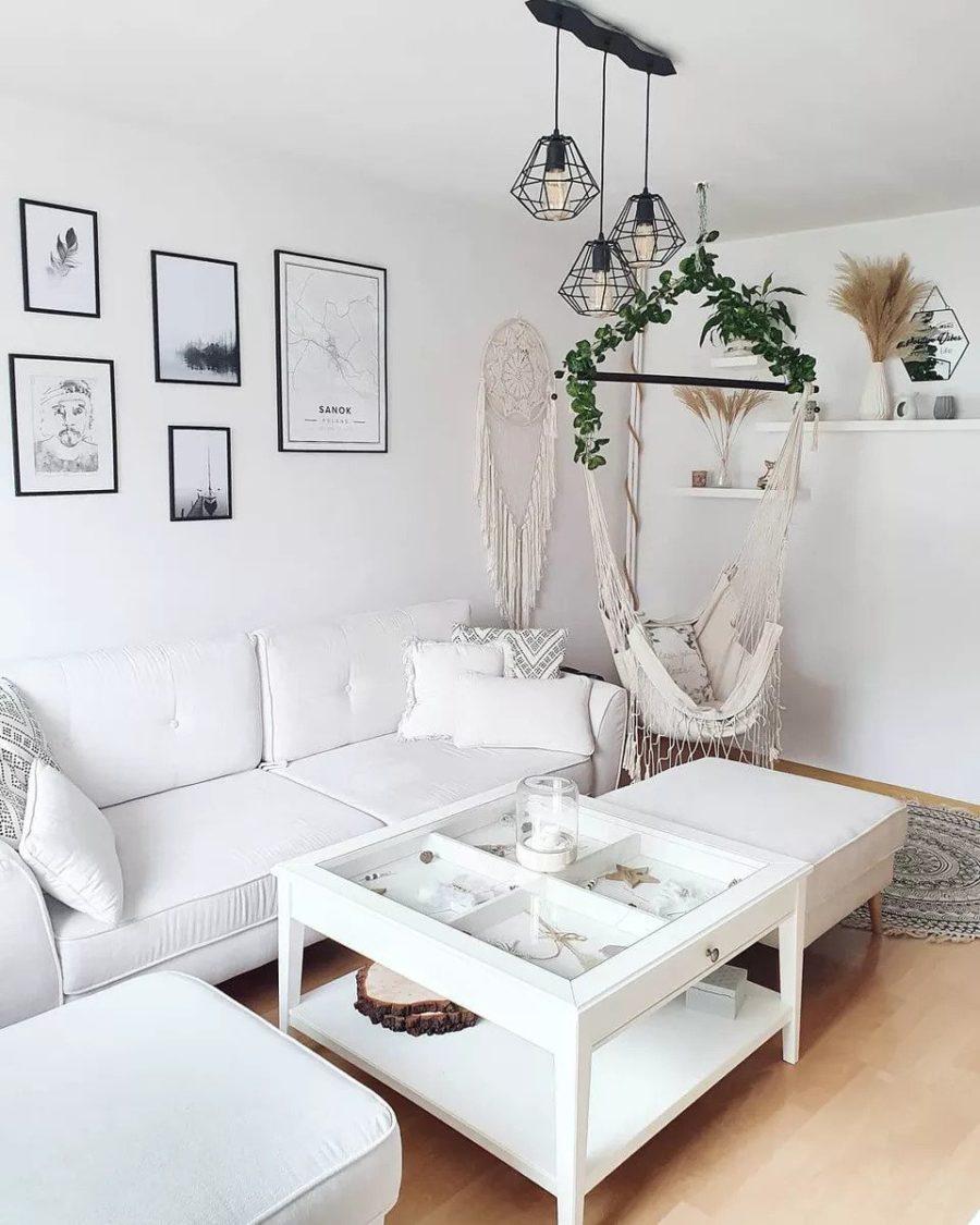 idées de décoration de salons scandinaves