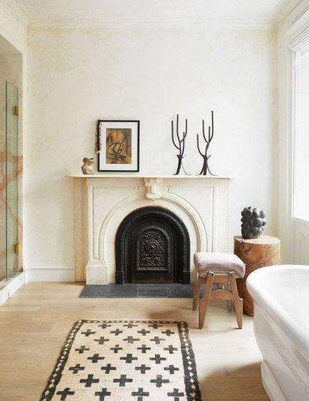 idées de décoration avec cheminée pour votre magnifique salon