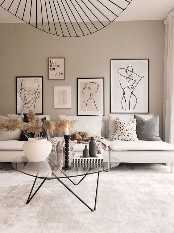 Tableau pour salon minimalistes