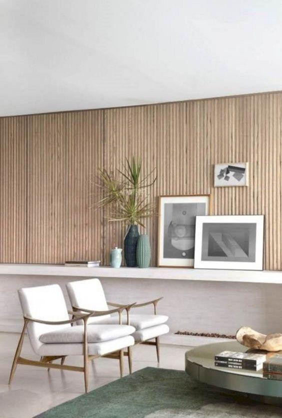 Textures pour votre salon minimaliste