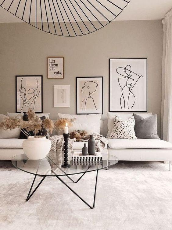 maison minimaliste chaleureuse et confortable