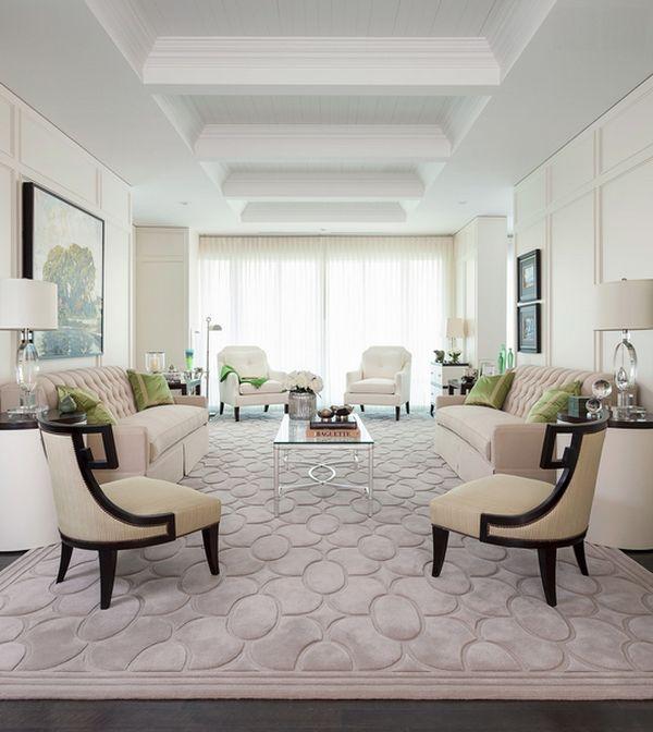 tapis confortable pour le salon