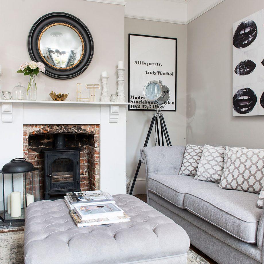 Visitez cette élégante maison victorienne mitoyenne de trois chambres dans le Hampshire
